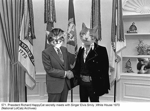 Richard Nixon & Elvis Presley